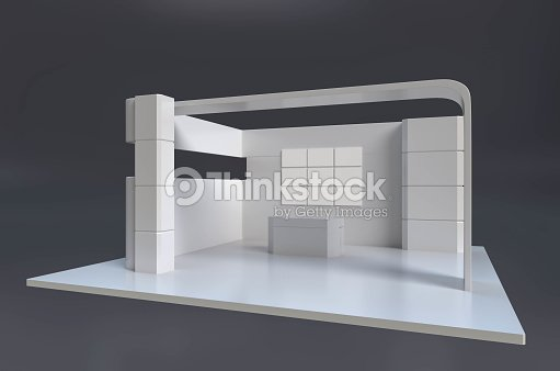 Exhibition Stand Quotation Format : Exhibition stand template foto stock thinkstock