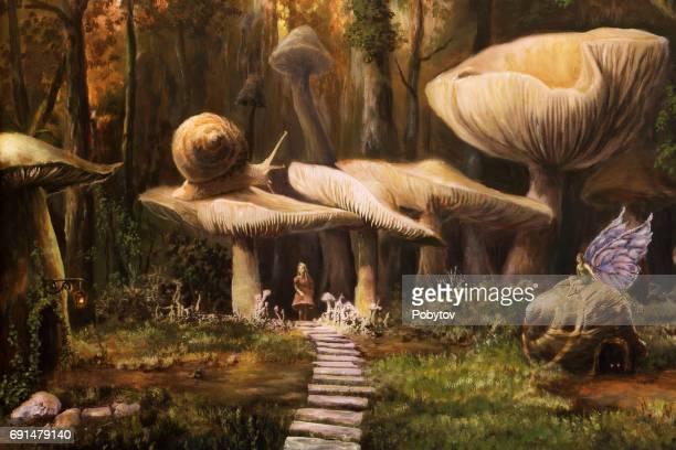 Fairyland, oil painting