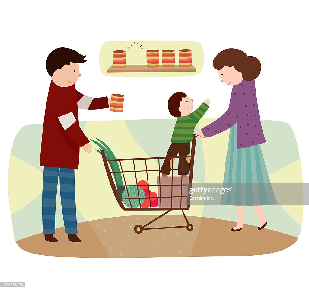 Family Bonding : Stock Illustration