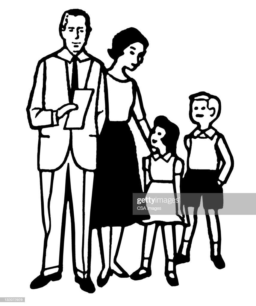 Family : Stock Illustration