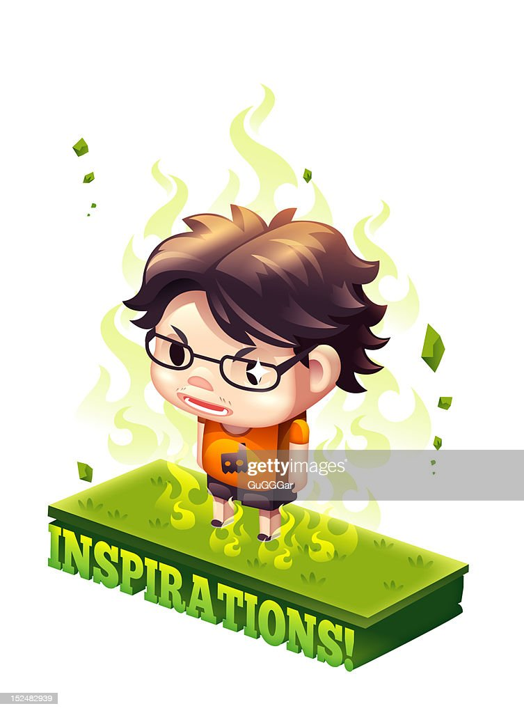 Fire of Inspirations : Stock Illustration