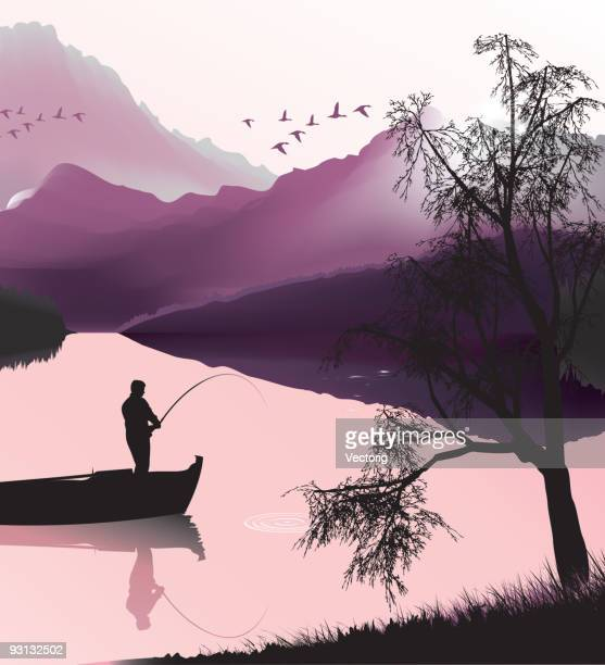 Fishing and Landscape