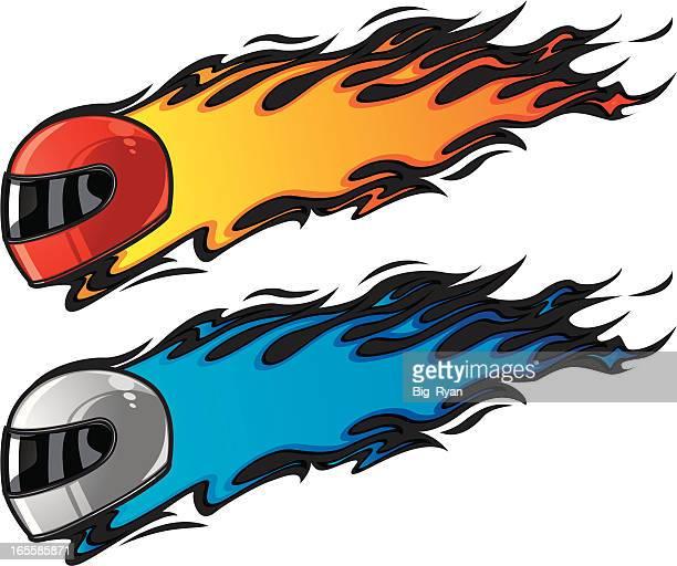 Flame Animation On Car Uk