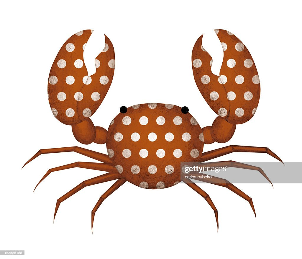 Flamenco Crab : Stock Illustration