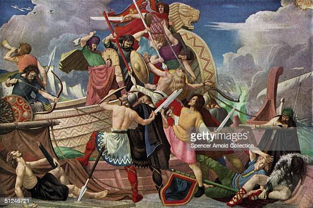 878 AD A fleet of Danish longboats suffers defeat by King Alfred the Great's navy at Swanage in Dorset The Vikings had been trying to wrest...