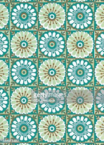 Floral Pattern : Stock Illustration