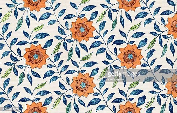 Papel tapiz Floral