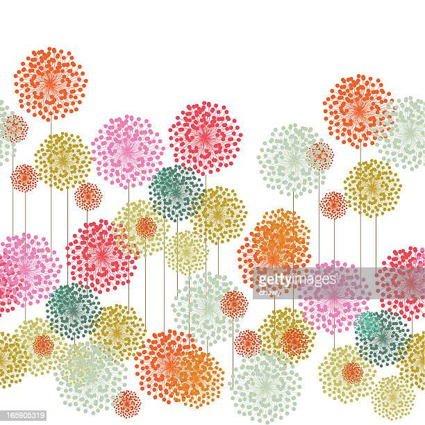 Flower garden Muster