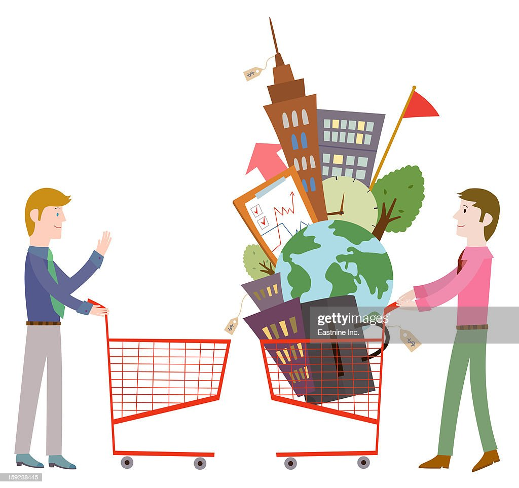 Foreign trade business : Stock Illustration