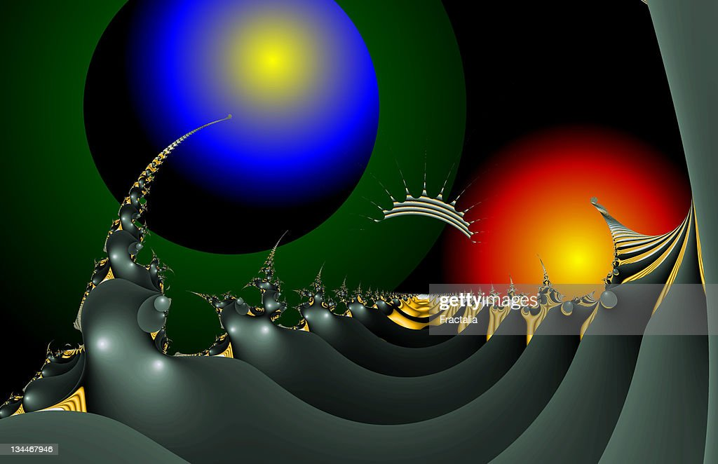 Fractal object : Stock Illustration