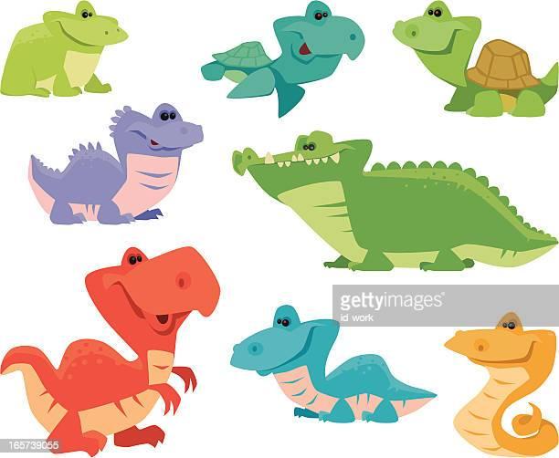 funny reptiles