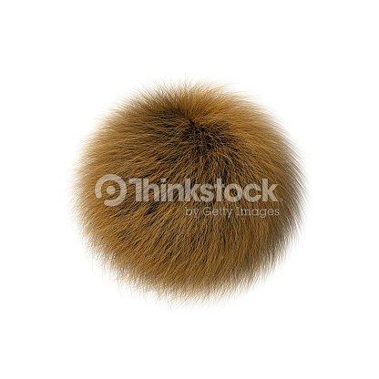Fur ball : stock illustration