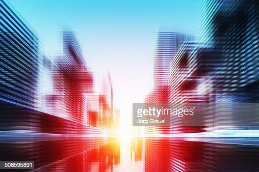 Futuristic cityscape : Ilustración de stock