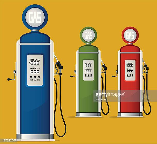 Gas Station and Fuel Pump
