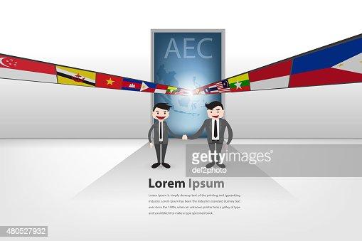 Gateway to aec (partnership theme) : Illustrationer