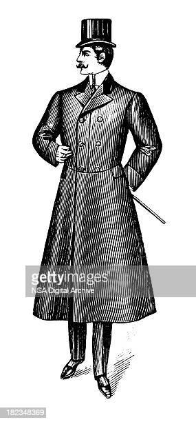 Conception Antique Gentleman/Illustrations