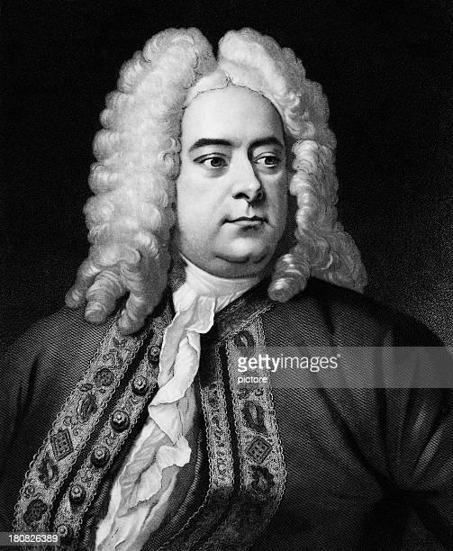 Georg Friedrich Haendel, baroque compositeur britannique