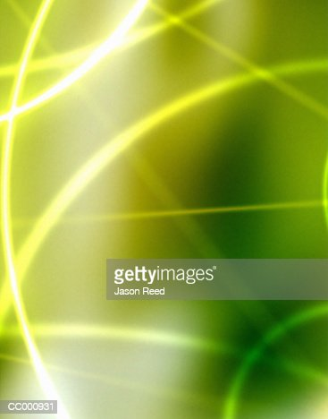 Glowing Green Background : Stock Illustration