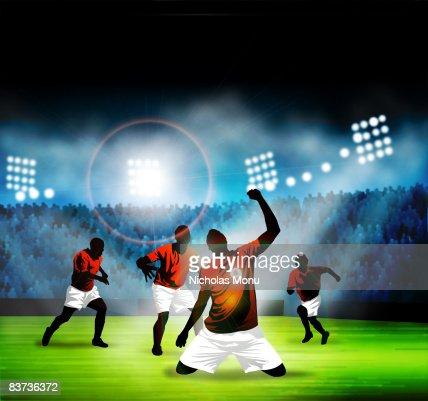 Goal! : Stock Illustration