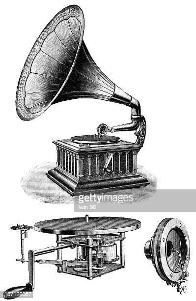 ImagesVideo蓄音機のイラスト素材と絵