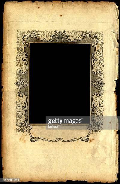 grand paper frame border