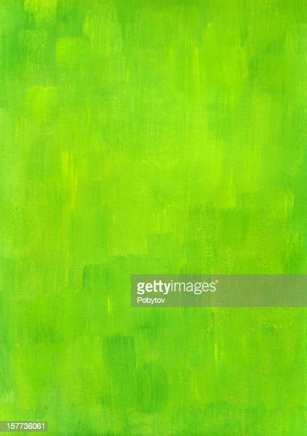 Green brushed background