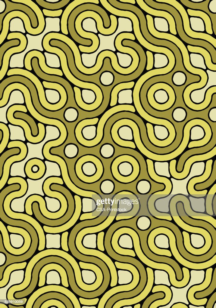 Green Pattern : Stock Illustration