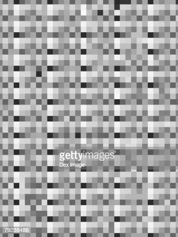 Grey tones square patterns : Stock Illustration