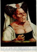 A grotesque portrait of Marguerite of Carinthia and Tyrol by Flemish artist Quentin Matsys 1515 This painting has provided inspiration for amongst...