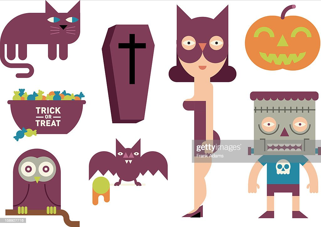 Halloween images : Stock Illustration