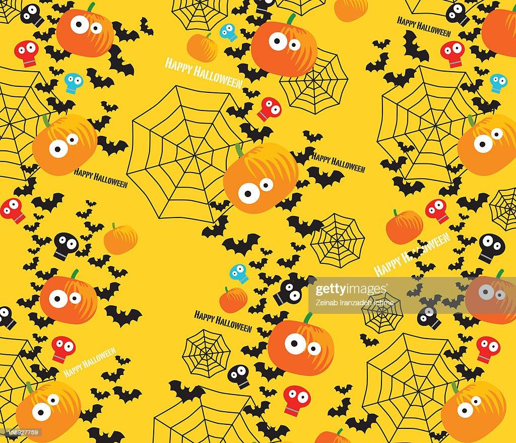Halloween pattern : Stock Illustration