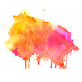 Watercolor background. Hand drawn Painting. Colorful illustration
