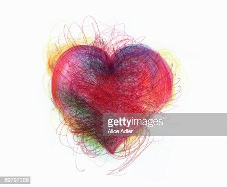 A heart shape : Stock Illustration