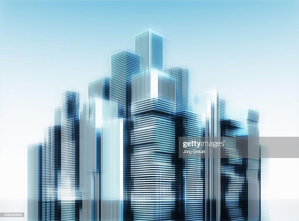 High-rise buildings : Ilustração de stock