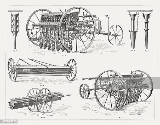agricultural equipment stock illustrations and cartoons