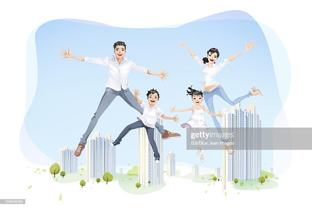 Home sweet home : Stock Illustration