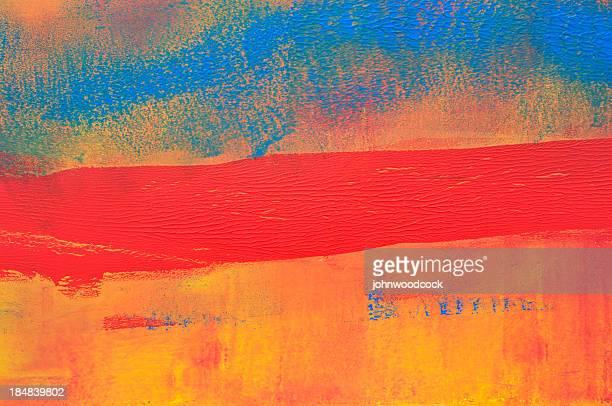 Horizontal red stripe
