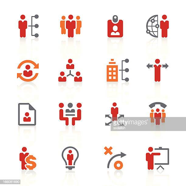 human resource management icons/alto series