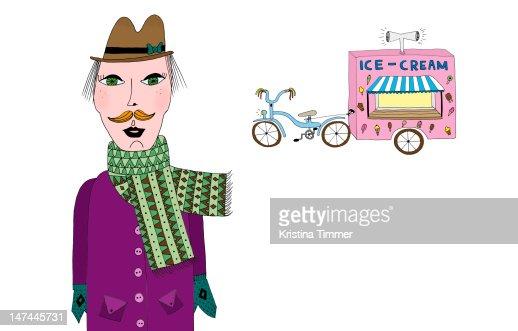 Ice-cream : Ilustración de stock