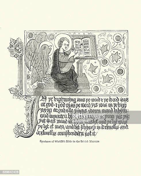 Illustration from Wycliffe's Bible