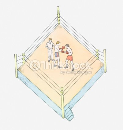 Illustration of boxing ring ilustrao de stock thinkstock illustration of boxing ring ilustrao de stock ccuart Images