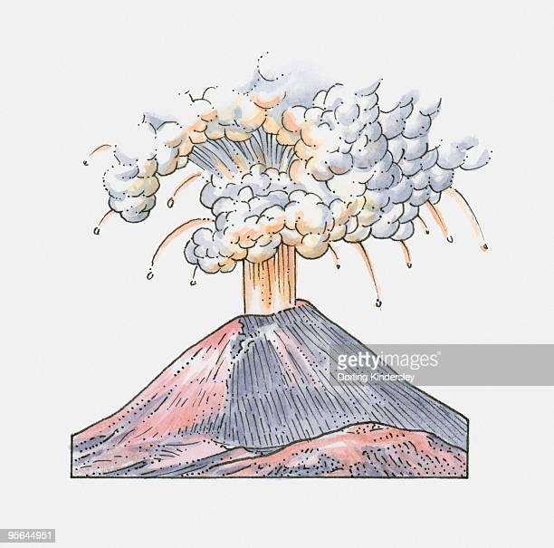 Fine Cartoon Volcano Diagram Jerusalem House Wiring Digital Resources Nekoutcompassionincorg