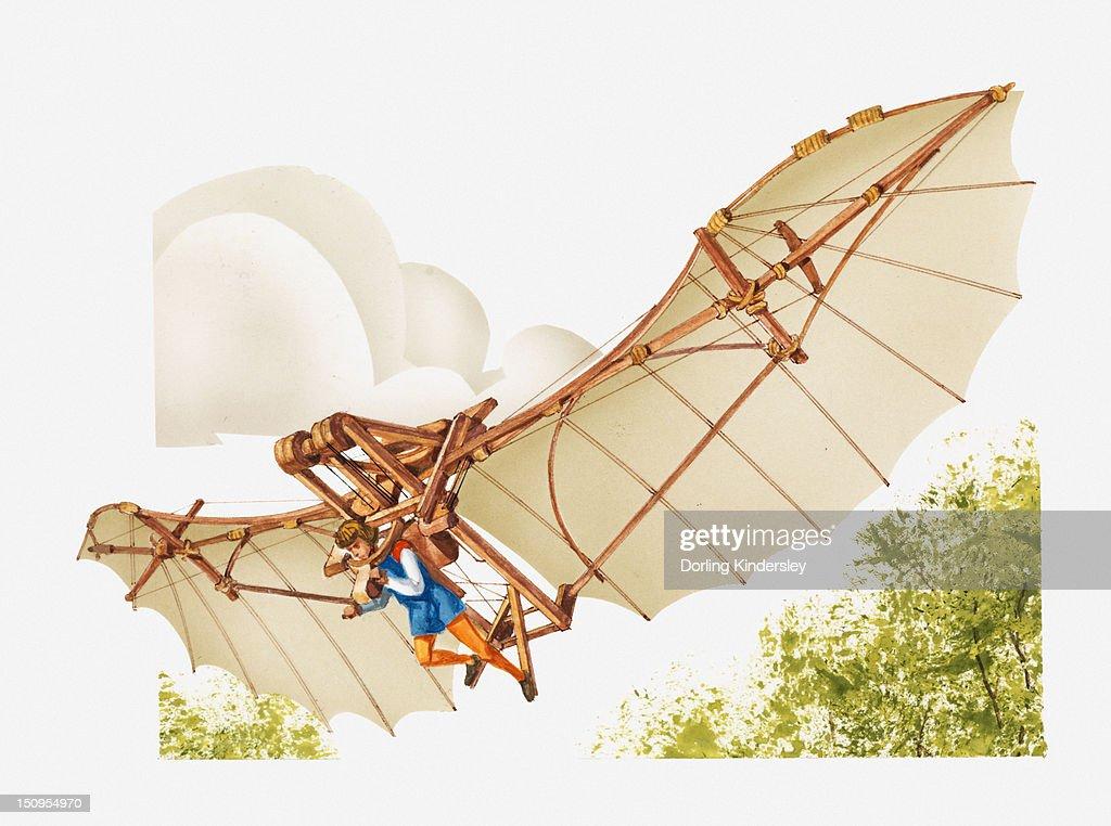 flying machine leonardo da vinci