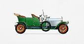 Illustration of Rolls-Royce Silver Ghost