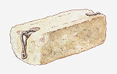 Illustration of Stone of Scone, also known as Stone of Destiny
