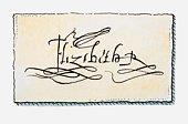 Illustration of the signature of Elizabeth I