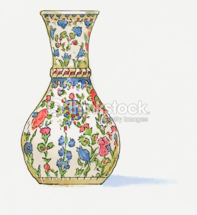 Illustration Of Traditional Iznik Vase Stock Illustration Thinkstock
