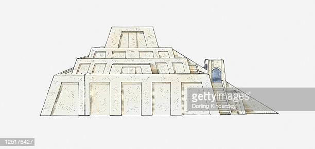 ziggurat stock illustrations and cartoons getty images