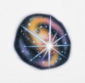 Illustration representing The Big Bang theory