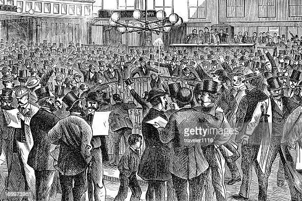 Inside The New York Stock Exchange 1873